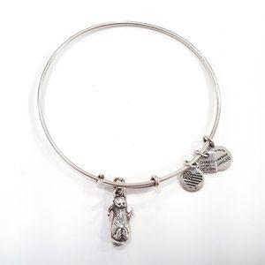 Alex & Ani Otter Silver Tone Bracelet 2016